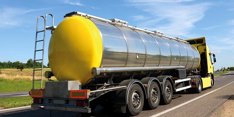 Petroleum Tanker Truck