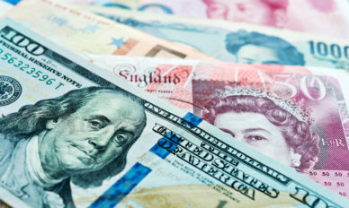 Background of international currency notes
